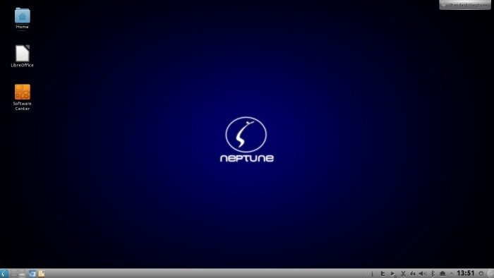 ZevenOS 2.5 Neptune - środowisko graficzne KDE