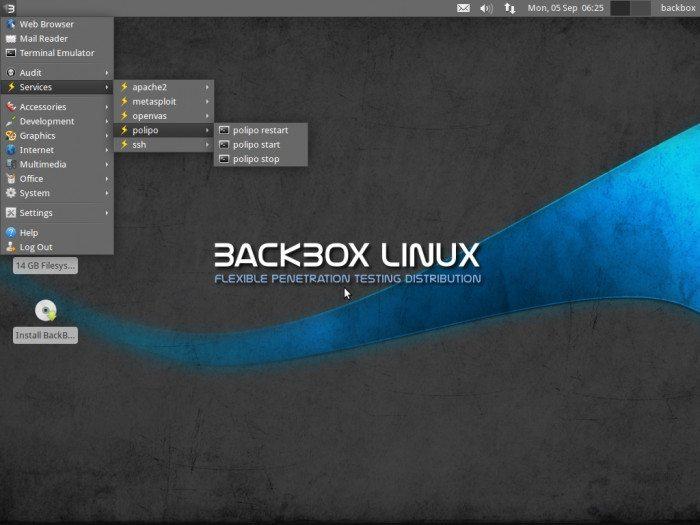 BackBox Linux 2