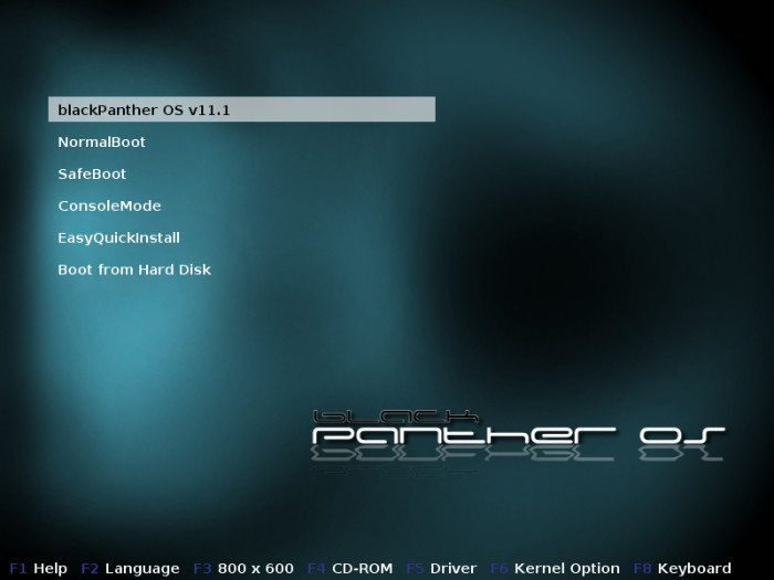 blackPanther OS 11.1