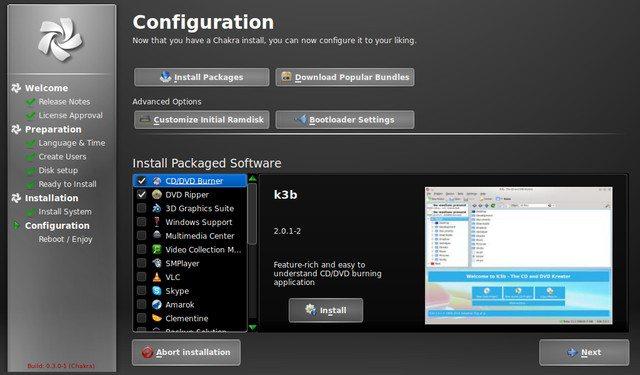 Chakra GNU/Linux 0.3.0