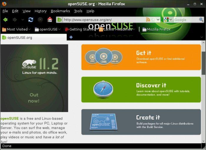 openSUSE 11.3 Milestone 1