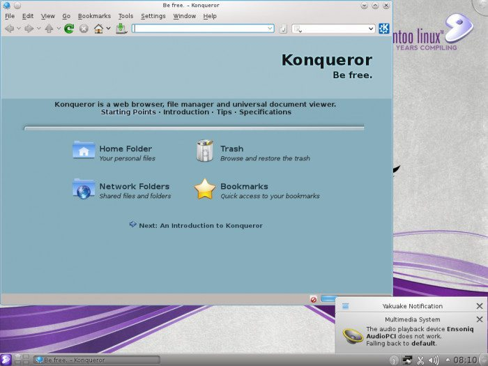 Gentoo Linux 11.0