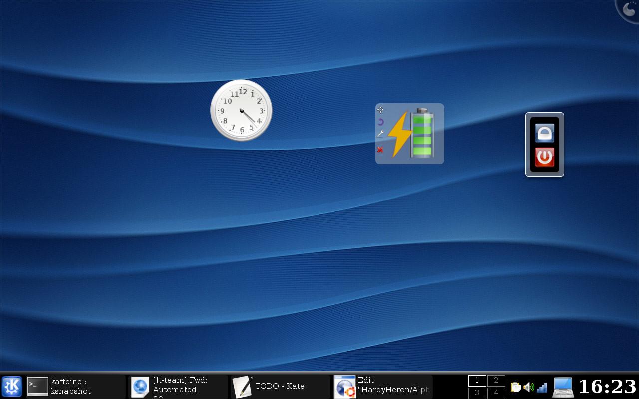 Kubuntu - KDE 4