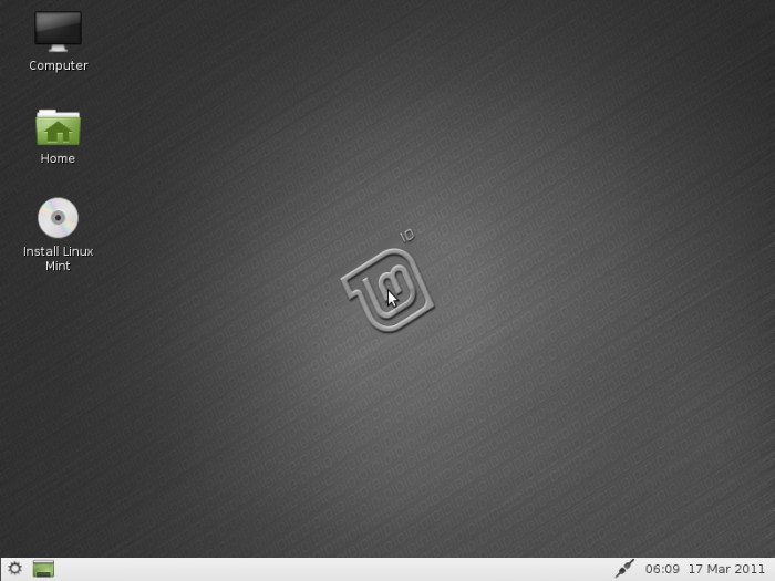 "Linux Mint 10 ""LXDE"""