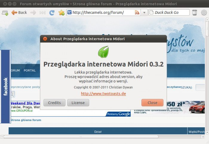 Midori 0.3.2