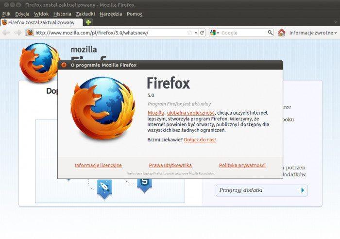 Mozilla Firefox 5.0