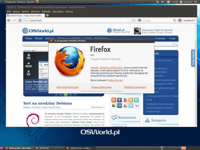 Mozilla Firefox 6.0