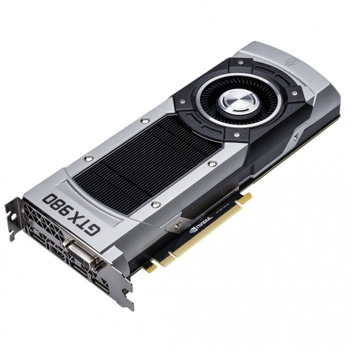 nVidia GeForce 980 - wygląd