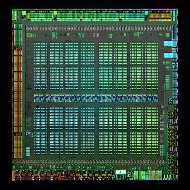 nVidia Maxwell GM204 - wygląd układu