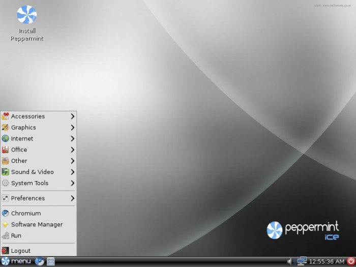 Peppermint OS Ice-10012010