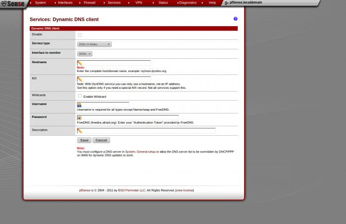pfSense 2.0 RC1 - DNS