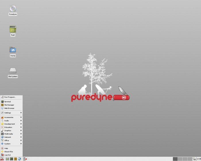 Puredyne - Desktop