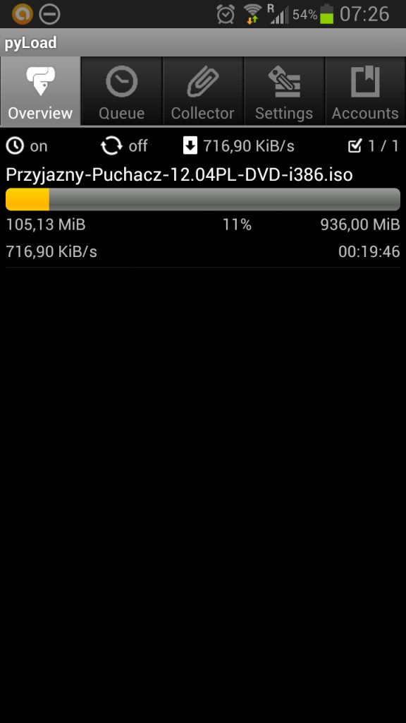 pyLoad - Android