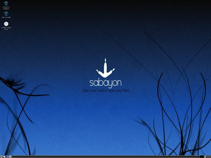 Sabayon Linux 5.5 LXDE