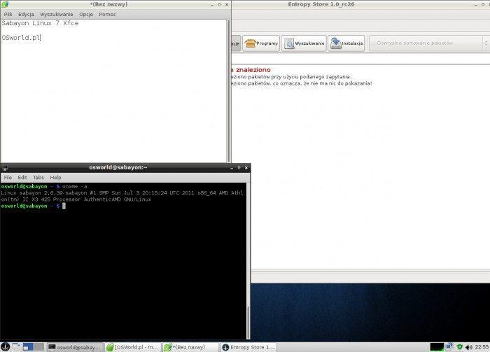 Sabayon Linux 6 LXDE