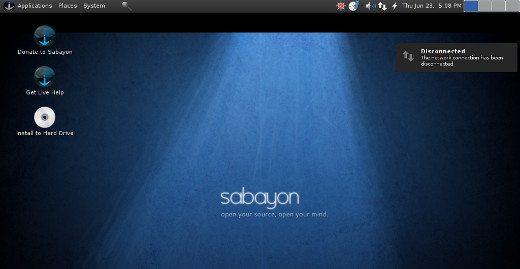 Sabayon Linux 6 (slider)