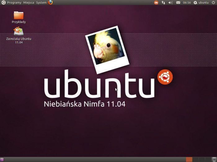 Ubuntu 11.04 - Niebiańska Nimfa
