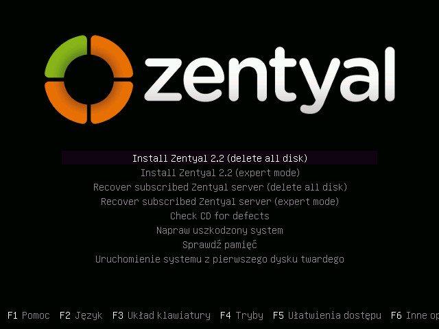 Zentyal 2.2